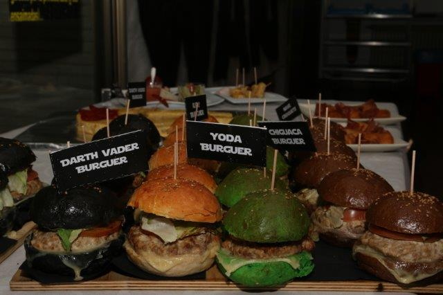 Hamburguesas Star Wars